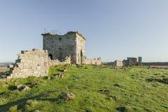 Rothley城堡,诺森伯兰角废墟  英国 英国 免版税图库摄影
