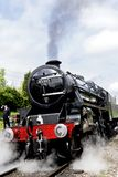 45305 LMS 5305 & BR 45305 built by Armstrong Whitworth at Newc stock photography