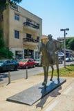 Rothschild大道,特拉唯夫 免版税库存照片