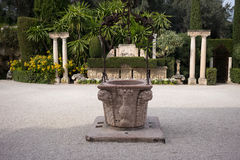 Rothschild Gardens and Villa Royalty Free Stock Image