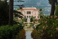 Rothschild Villa France Stock Photos