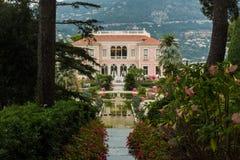 Rothschildvilla Frankrijk Stock Foto's
