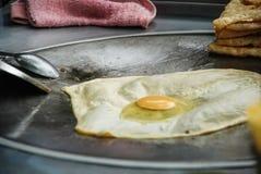 Roti,街道食物点心,泰国 库存照片