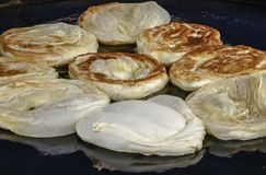 Roti Bom flatbread Στοκ Εικόνα