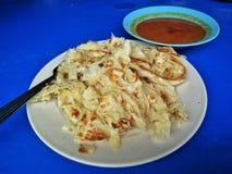Roti canai, also known as roti cane or roti prata. stock images