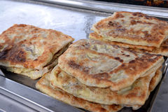 Roti Canai Royalty Free Stock Photography