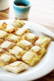 Roti with chesse Royalty Free Stock Photos