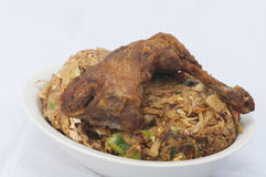 Roti de kottu de poulet Photos stock