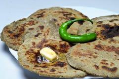 Roti do ki de Bajre fotografia de stock royalty free