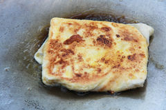 Roti on a pan Stock Image