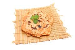 Roti Paratha photographie stock
