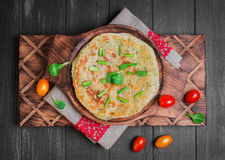 Roti Paratha Flatbread Στοκ εικόνες με δικαίωμα ελεύθερης χρήσης