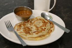 Roti Prata Stock Photo