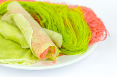Roti Saimai (Cotton candy) Stock Image
