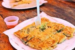 Roti or Thai pancake Royalty Free Stock Photo