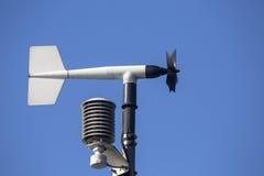 Rotierendes Flügelradanemometer Lizenzfreies Stockfoto