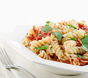 Rotini pasta Stock Photography