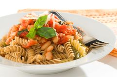 Rotini Pasta Royalty Free Stock Images