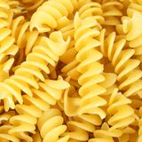 Rotini pasta background Stock Photo