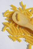 Rotini Pasta background Stock Photos