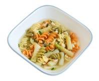 Rotini Soup Stock Photos