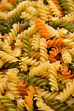 Rotini or spiral pasta Royalty Free Stock Photos