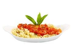 Rotini Teigwaren stockfoto