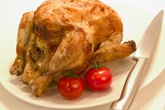 Rotiserie Chicken Royalty Free Stock Image