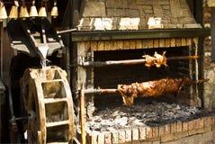 Rotisserie с встречей Стоковое Изображение