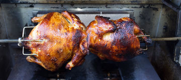 Rotisserie Chicken Royalty Free Stock Image