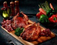 Rotisserie Chicken Stock Images