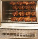 Rotisserie Chickens Stock Photos