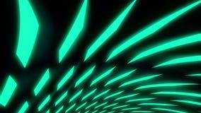 Rotix //1080p抽象五颜六色的几何录影背景圈 库存例证