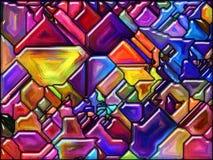 Roto por el color Foto de archivo