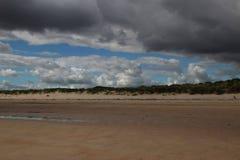 Rotolamento della tempesta dentro Fotografia Stock