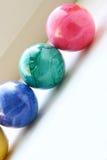 Rotolamento delle uova di Pasqua Fotografie Stock