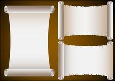 Rotoli antichi Fotografie Stock Libere da Diritti