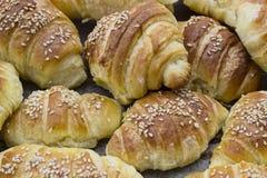 Rotoli del croissant Immagine Stock Libera da Diritti