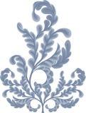 Rotoli del foglio della quercia royalty illustrazione gratis