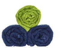Rotoli dell'asciugamano Fotografie Stock Libere da Diritti