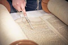 Rotoli della bibbia, torah Immagine Stock