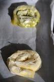 Rotoli della pasticceria Fotografia Stock