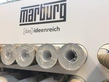 Rotoli di Marburgo della carta da parati Fotografia Stock Libera da Diritti