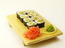Rotoli di sushi Immagine Stock