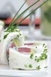 Rotoli di sushi di California Immagini Stock
