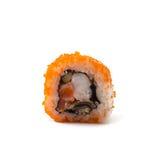 Rotoli di sushi giapponesi freschi tradizionali Fotografie Stock Libere da Diritti