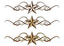 Rotoli occidentali della stella Fotografia Stock