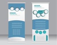 Rotoli sul modello del supporto dell'insegna Fondo astratto per progettazione, Immagini Stock