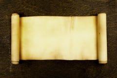 Rotolo antico fotografia stock libera da diritti