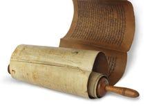 Rotolo antico antico Fotografie Stock